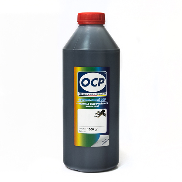 Чернила OCP BK124 (Photo Black) для CANON, 1000г